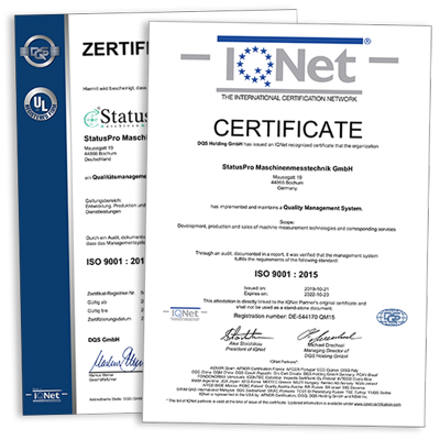 Certificates ISO 9001:2015