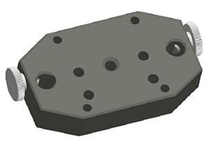 Universal Adapter zur Montage von T250, R280, R310, Laser