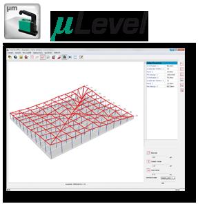 Software zur Vermessung Neigungen, Laser, Protokokollierung, PC