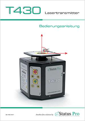 T430 Lasertransmitter � User Guide
